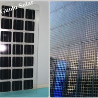 High Quality BIPV Transparent Glass Solar Panel