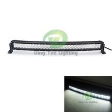 High quality 12v 180w curved led light bar 31.5'' led flashing light bar