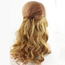 Bohemian natural curl lace wig , natural curl brazilian hair wig with blonde hair could do customized style