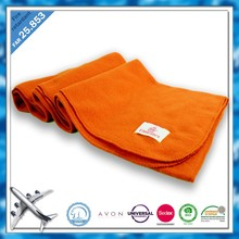 BSCI SEDEX DISNEY blanket factory China FAR 25.853 fire flame retardant cheap and disposable airline blanket