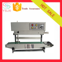 High efficiency vertical continuous heat bag sealer