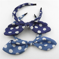 free sample hot sale cotton fashion pageant hair accessories