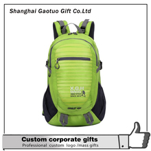 600D Polyster bright color multifunctional backpack
