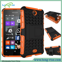 High Quality Shockproof Rugged Hybrid Case for Nokia Lumia 430 Back Cover