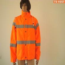 Reflector raincoat,3m reflective safety jacket,safety equipment