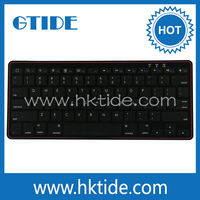 Gtide KB451 rii mini and raspberry pi colors bluetooth wireless keyboard with plastic back cover desktop keyboard cover