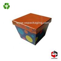 luxury custom made cardboard food gift box