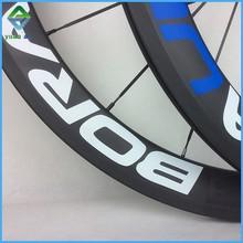 bike accessories 18/21 holes spoke pattern bicycle racing road matte 700c tubular carbon wheels