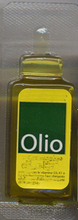 aceite oliva monodosis