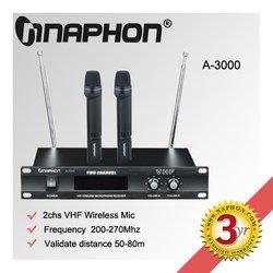 Naphon cheap wireless microphone wireless lapel microphone A-3000