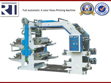 Full Automatic 4 Color Flexo Printing Machine
