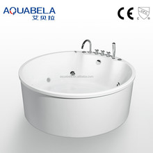 Portable cheap small round bathtubs for indoor bathroom