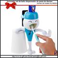Innovador set de baño dispensador de pasta de dientes