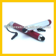 2 in 1 Plastic Rubber Soft Tip Stylus Pen for Pad