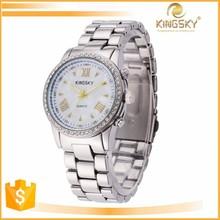 newest china alloy watch with diamond