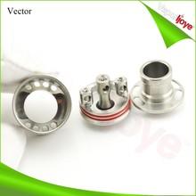electronic cigarette 3 post design 1:1 clone Vector atomizer