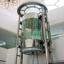 JSSA brand panoramic glass elevator lift, with automatic elevator door