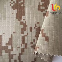 100% cotton military insectproof desert camouflage fabric