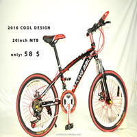 20inch discount mountain bike hot sale aluminium bicycle