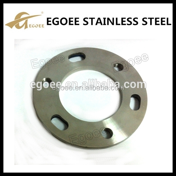 Stainless steel pipe flange spacer handrail