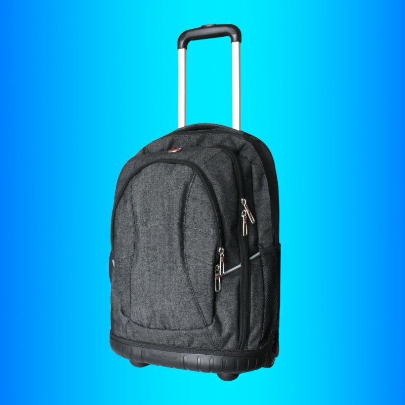 Oem toptan moda dizüstü arabası çantası bussiness/laptop tekerlekli sırt çantaları, çin marka özelleştirmek fabrika