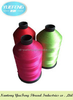 High quality spun polyester bonded sewing thread