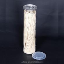 5 oz white round PET plastic pill bottle medicine cans with pressure twist off cap factory wholesale