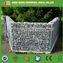 galvanized steel stone gabion cage/baskets/Carbon Steel Iron Welded Gabion Box with Short Leadtime