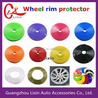 Wholesale Car Wheel Hub Tire Sticker Car Decoration WHEEL PROTECTORS RIM TRIM PROTECTION wheel rim protector