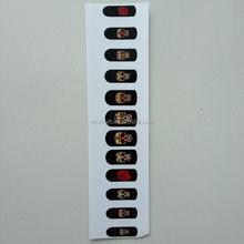 Halloween Design Nail Vinyl Wraps,Nail stickers