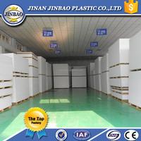 100% virgin raw materials high density rigid pvc foam board