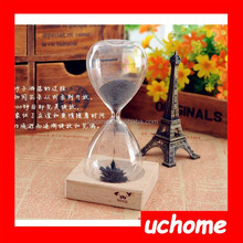 UCHOME Awaglass Hand-blown Timer Magnet Hourglass / Magnetic Hourglass