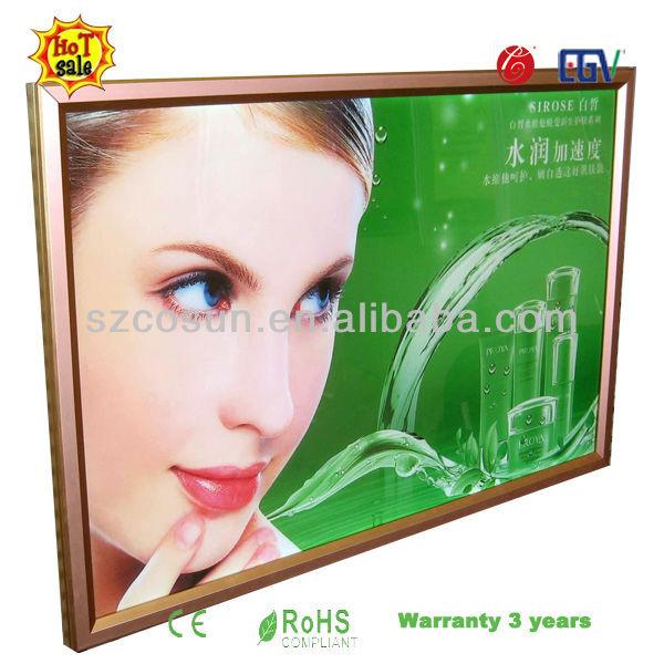 Lumisheet publicidade caixa de luz sinal iluminado
