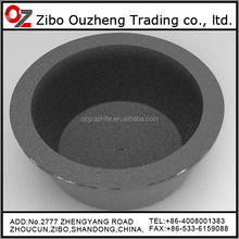 high pure graphite crucibles for metling cast iron