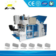 QMY12-15 German zenith hollow block machine price auto mobile hydraulic egg laying concrete block machine