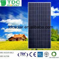 High quality 300w poly pv solar panel