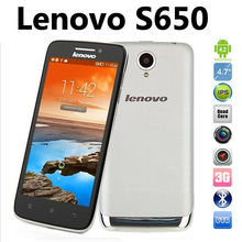 china wholesale 4.7 inch Android 4.2.2 MTK6582 1.3GHZ Quad core GPS WCDMA 3G Smartphone lenovo S650