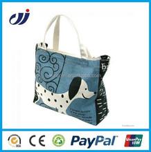 Promotional fashion cotton canvas bag wholesale/cotton canvas duffel bag/canvas wholesale tote bags