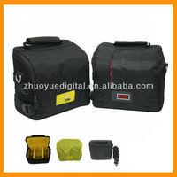 Hot sale Professional Vintage Casual Nylon DSLR Camera Bag Portable Single Shoulder Carry Case for Canon/nikon/pentax/sony