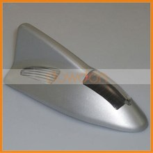 LED solar shark fin flashing lights Car dome light Solar energy antennal Warning light