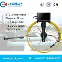 small inspection camera for air duct and chimney