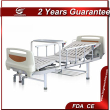 with Centralized two function manual adjustable used electric hospital beds