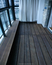 Termite resistant water proof anti slip strand woven outside bamboo flooring
