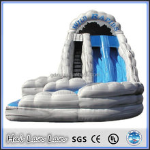 2015 hot sale china style jumping castles inflatable water slide for adults