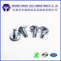 M3X6 pt screw pan head washer screw carbon steel screw
