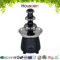 New Products 2016 Mini Home 3-tiers Chocolate Fondue Fountain
