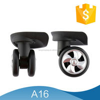 luggage Trolley Wheels Black Suitcase Caster Wheels