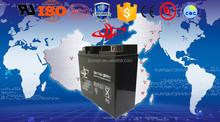 battery charger 12V17ah AGM battery, Facory of battery, NP17-12 long life inverter battery.