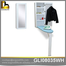Goodlife furniture wooden ironing board in cabinet made in china