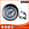 "Stainless Round Drop In Pan W/ Fire Ring Propane And Natural Gas Installation Kit (19"" and 25"")"